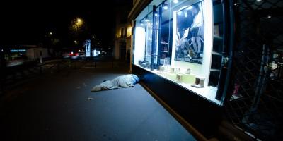 Night Street in Paris