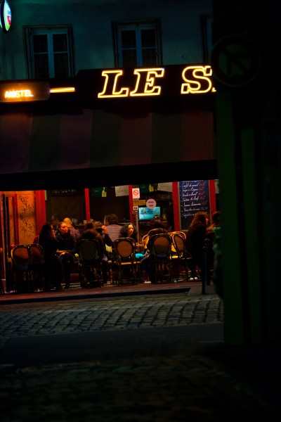 PARIS MONTMARTRE - CAFE
