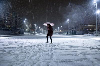 Paris : il neige ce vendredi soir