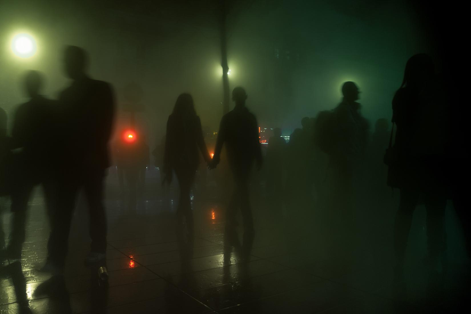 fumigènes de Fujiko Nakaya République