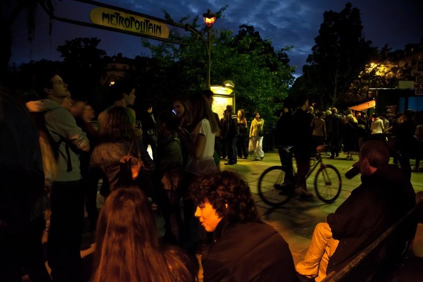2013_06 Street Paris Nuit